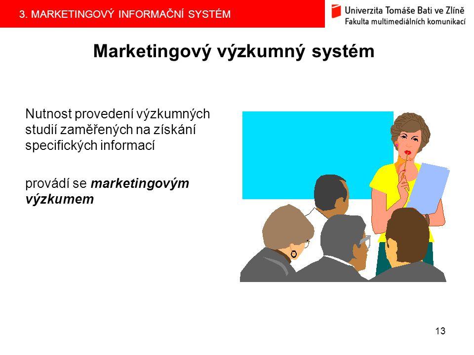 3.MARKETINGOVÝ INFORMAČNÍ SYSTÉM 12 KDE získávat informace.