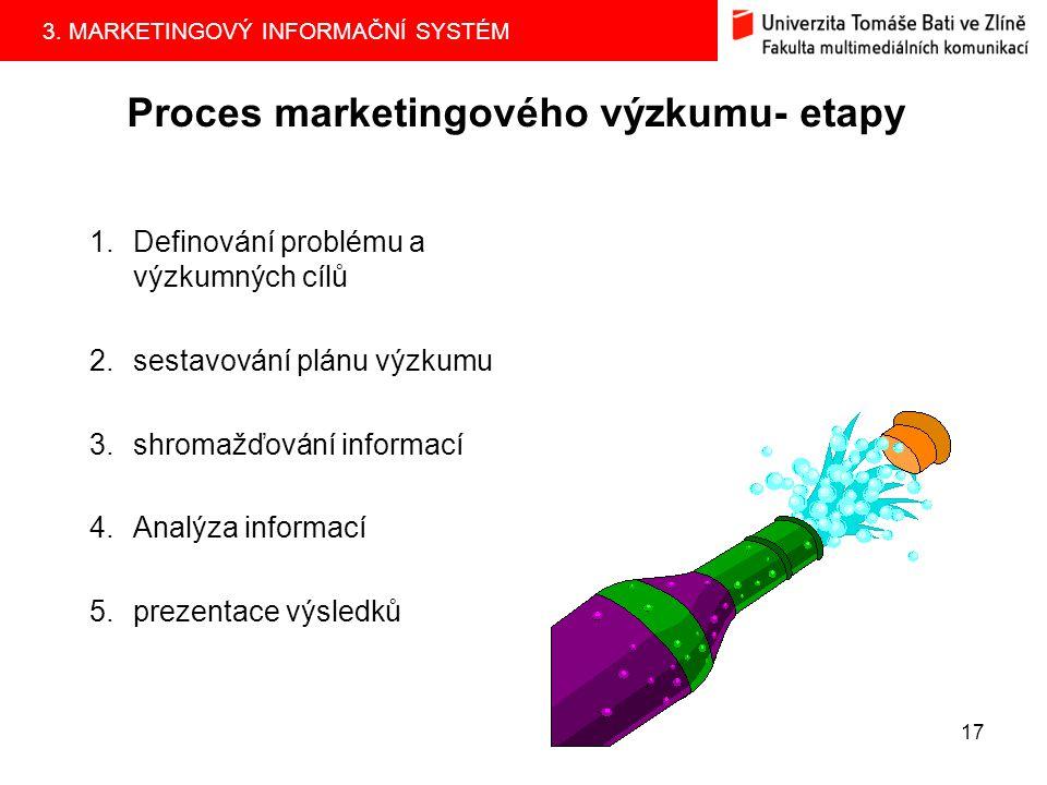 3.MARKETINGOVÝ INFORMAČNÍ SYSTÉM 16 KDO jsou dodavatelé marketingového výzkumu.