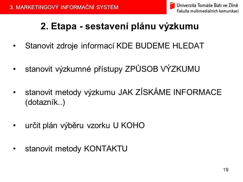 3.MARKETINGOVÝ INFORMAČNÍ SYSTÉM 18 1.