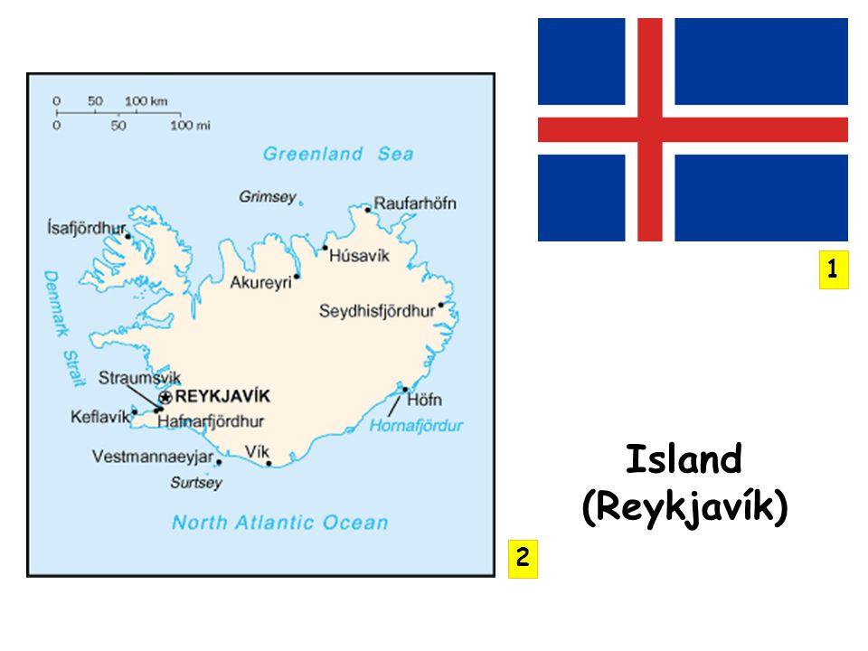 Island (Reykjavík) 1 2