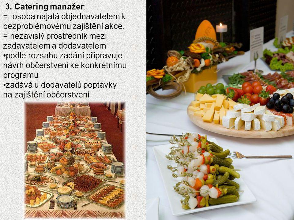 1. Výběr cateringové agentury v současné době v ČR několik desítek až stovek subjektů Prezentujících se jako cateringové firmy 2. Úskalí podnikání živ