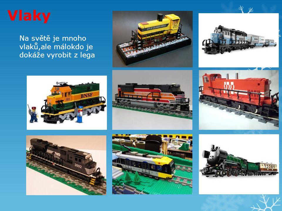 Vlaky Na světě je mnoho vlaků,ale málokdo je dokáže vyrobit z lega