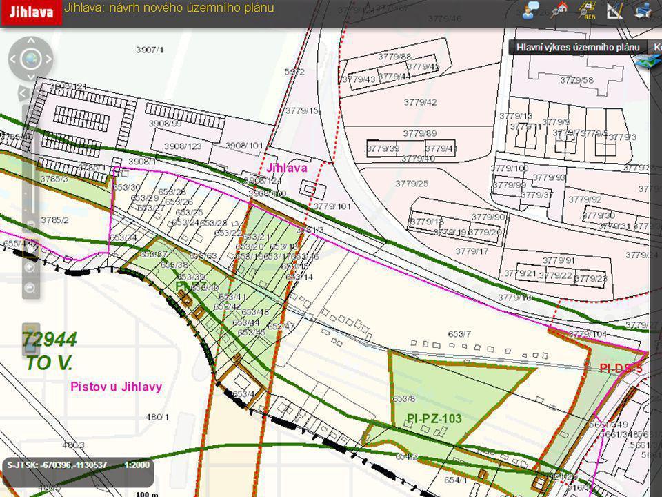 Návrh územního plánu Jihlava 1.
