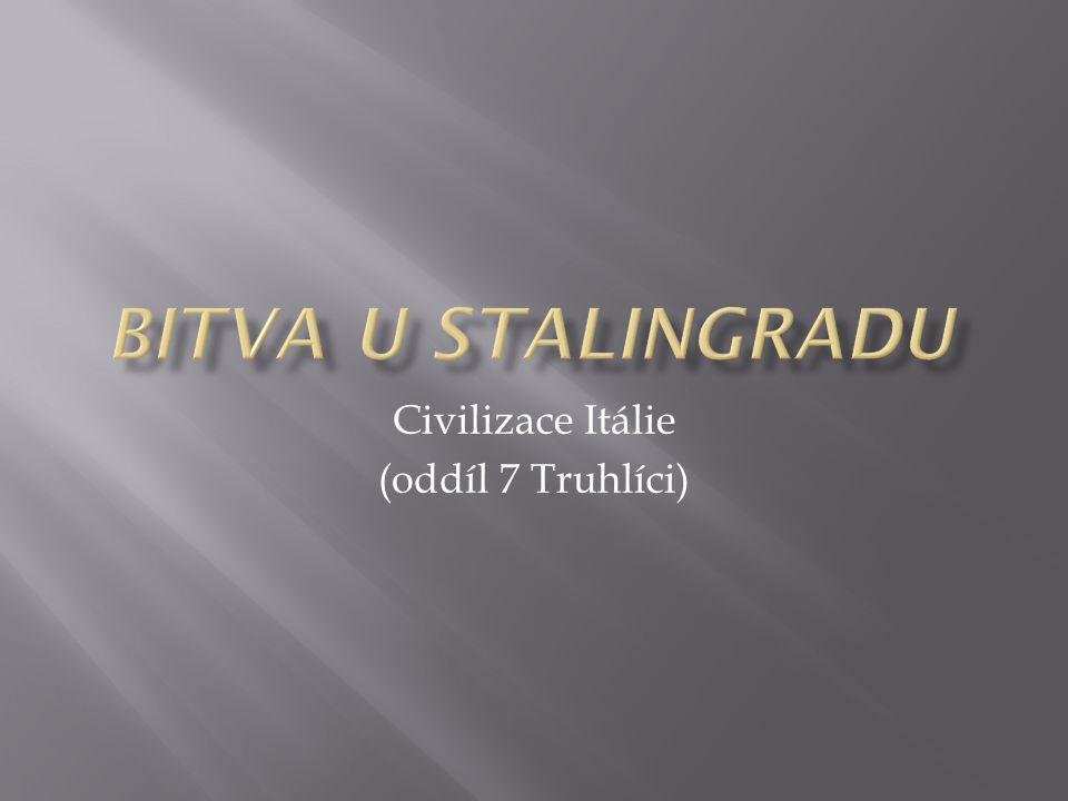 Civilizace Itálie (oddíl 7 Truhlíci)