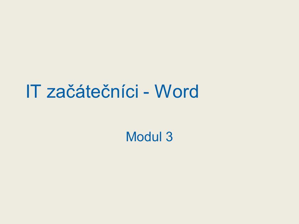 """Začínáme s MS Word Spuštění Wordu Z panelu """"Snadné spuštění Výběrem přes tlačítko Start/Všechny programy/Microsoft Office/Word Přes zástupce programu umístěného na Ploše"""