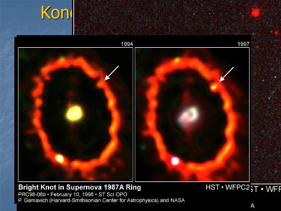 Konečné fáze vývoje hvězd Hnědý trpaslík – poměrně malé těleso, hvězda, u které ani nezačala jaderná fúze Hnědý trpaslík – poměrně malé těleso, hvězda