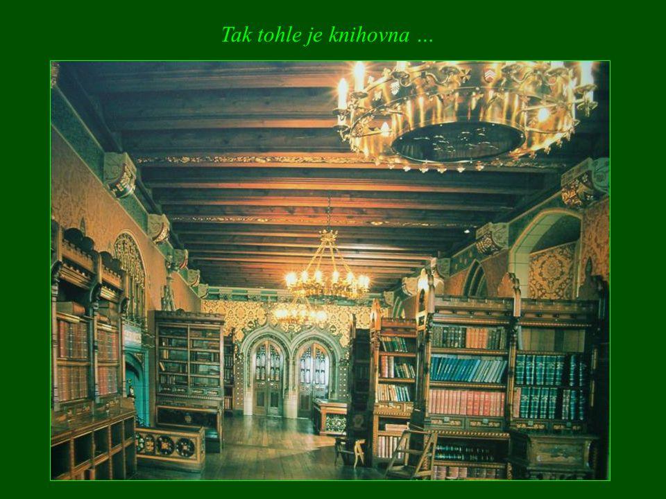 Tak tohle je knihovna …