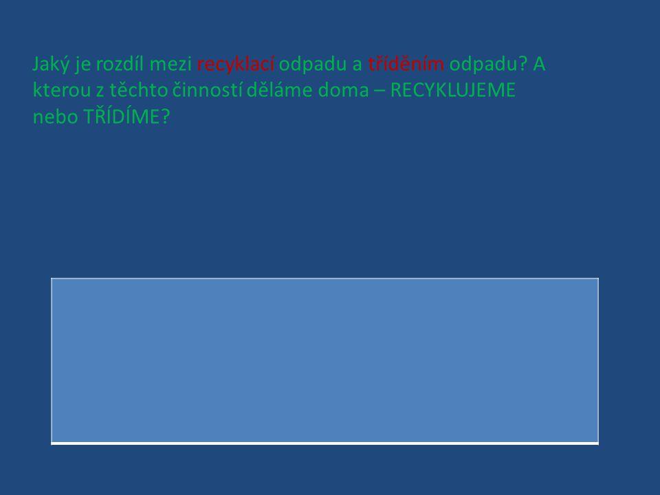 V České republice neexistují popelnice na kov – železo, a jiné podobné materiály. Kam bychom tedy měli odnášet kov?