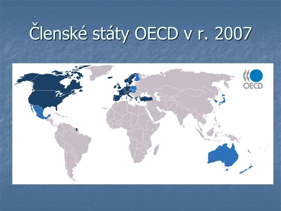 Členské státy OECD v r. 2007
