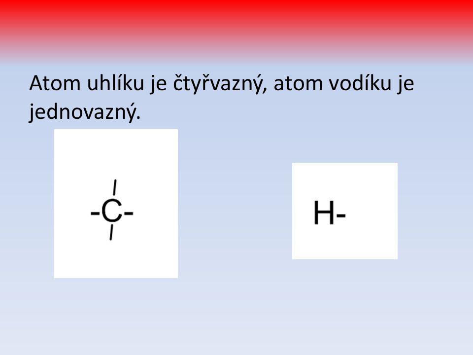 Lineární uhlovodíky dělíme podle typu vazby na 3 skupiny: Alkany – mají pouze jednoduché vazby Alkeny – obsahují alespoň 1 dvojnou vazbu Alkyny – obsahují alespoň 1 trojnou vazbu (S uzavřeným řetězcem cykloalkany, cykloalkeny a cykloalkyny.) Čtvrtou, odlišnou skupinou jsou aromatické uhlovodíky = arény – jejich základem je benzenové jádro.