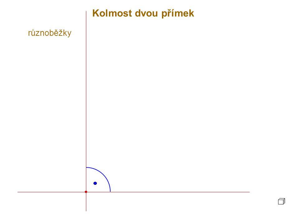 A p Daným bodem lze vést k přímce právě jednu kolmou rovinu.