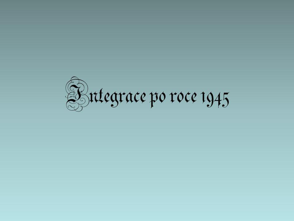 Integrace po roce 1945