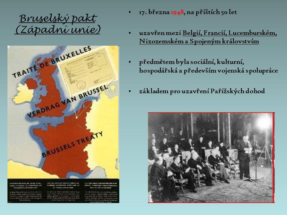 Západoevropská unie (ZEU) 23.