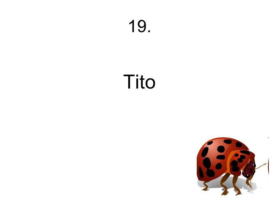 19. Tito