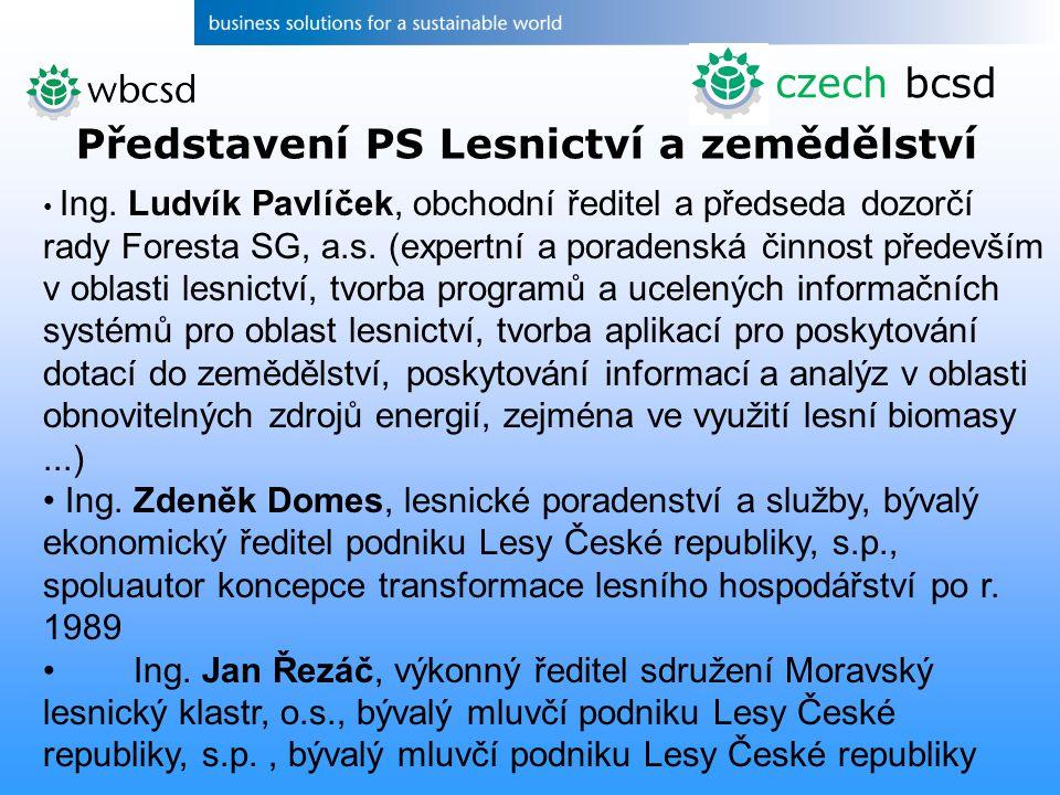 Ing.Ludvík Pavlíček, obchodní ředitel a předseda dozorčí rady Foresta SG, a.s.