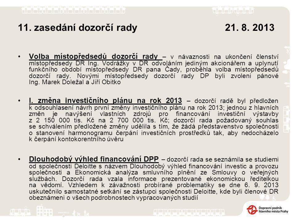 17.zasedání představenstva9. 9. 2013 I.