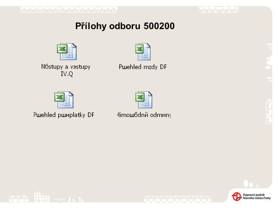 Přílohy odboru 500200