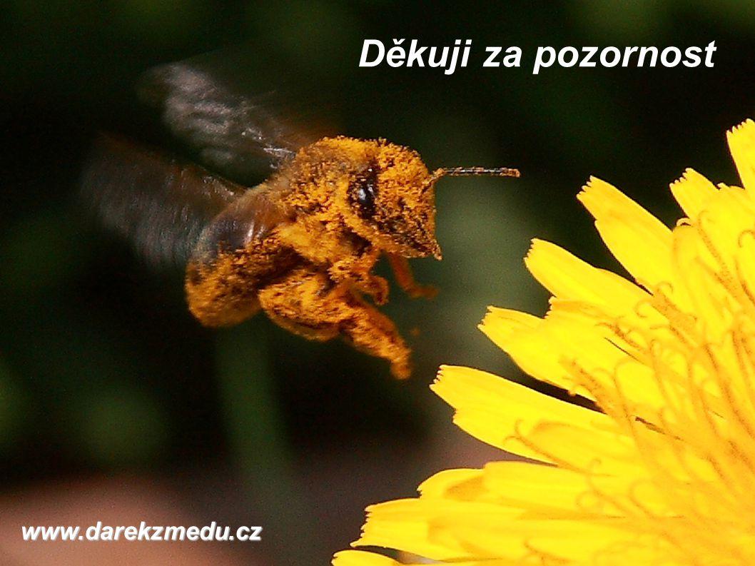 Děkuji za pozornost www.darekzmedu.cz