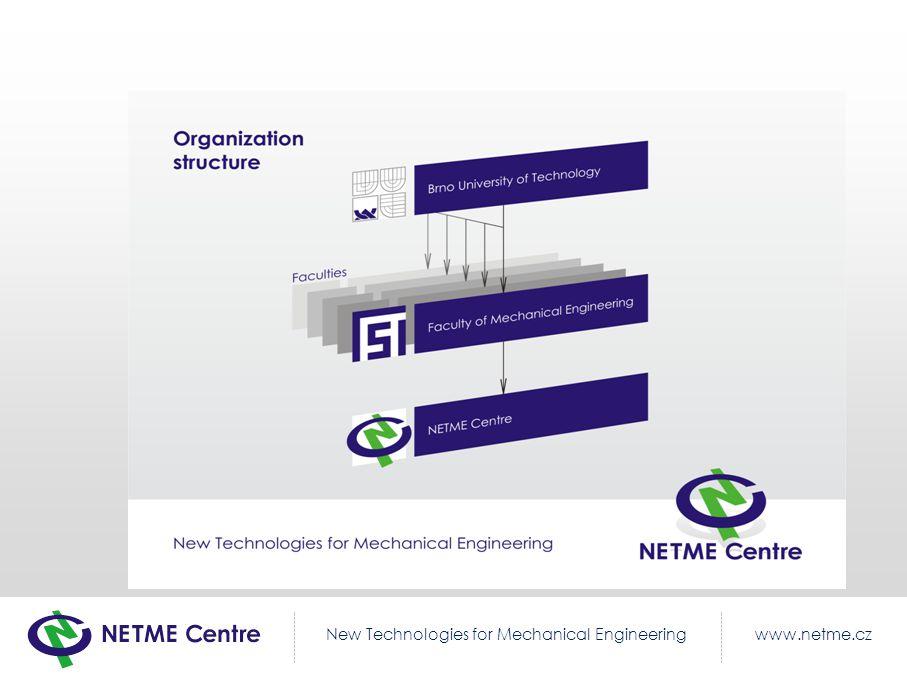 www.netme.czNew Technologies for Mechanical Engineering Divize NETME Centre
