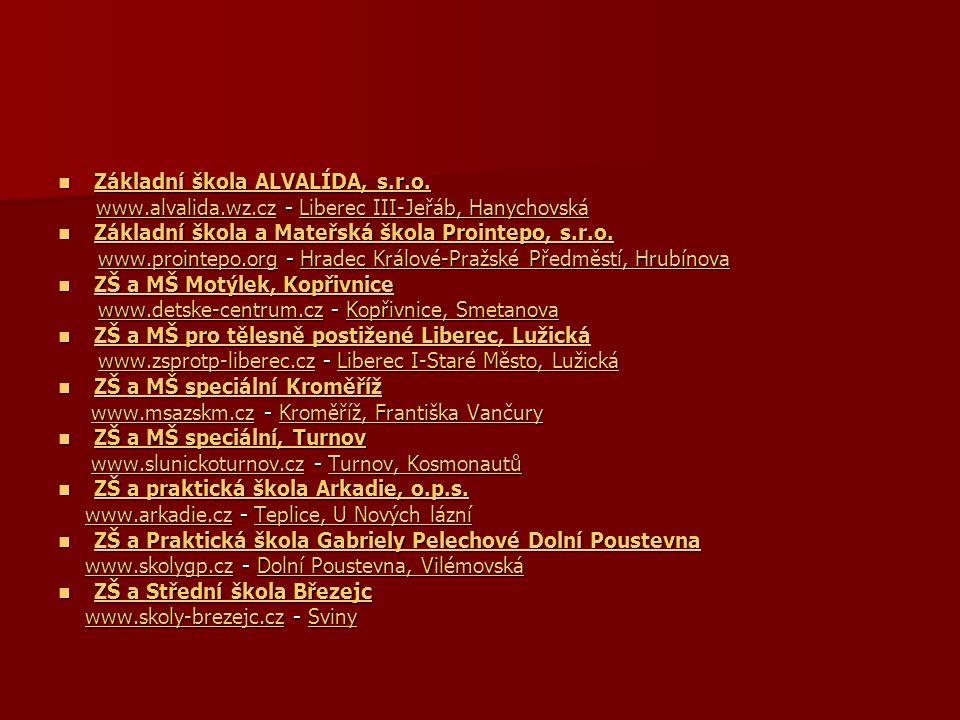 Základní škola ALVALÍDA, s.r.o. Základní škola ALVALÍDA, s.r.o. Základní škola ALVALÍDA, s.r.o. Základní škola ALVALÍDA, s.r.o. www.alvalida.wz.cz - L