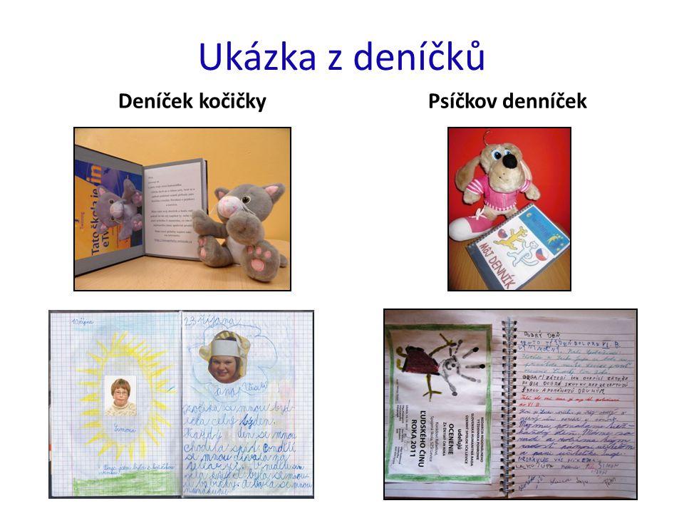 Ukázka z deníčků Deníček kočičkyPsíčkov denníček