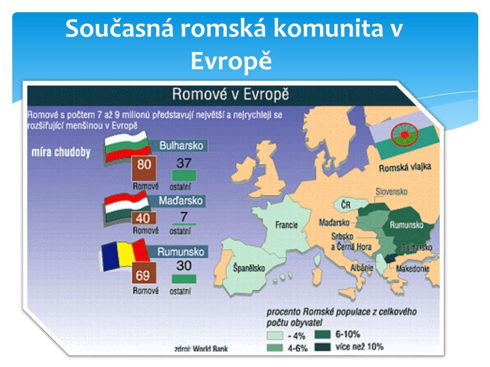 Současná romská komunita v Evropě