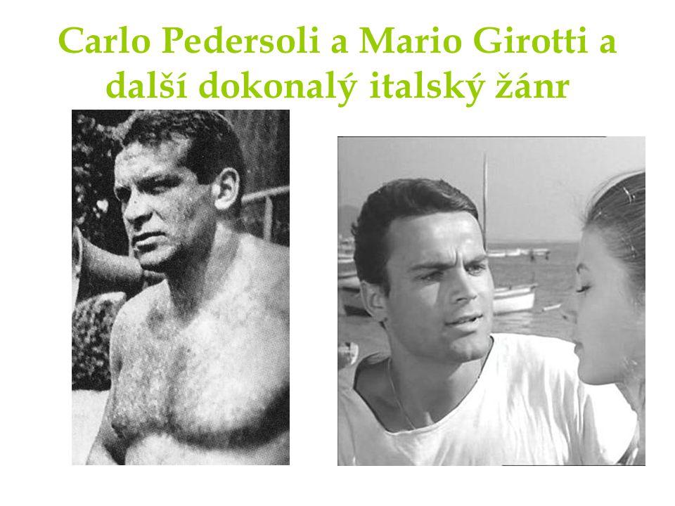 Carlo Pedersoli a Mario Girotti a další dokonalý italský žánr
