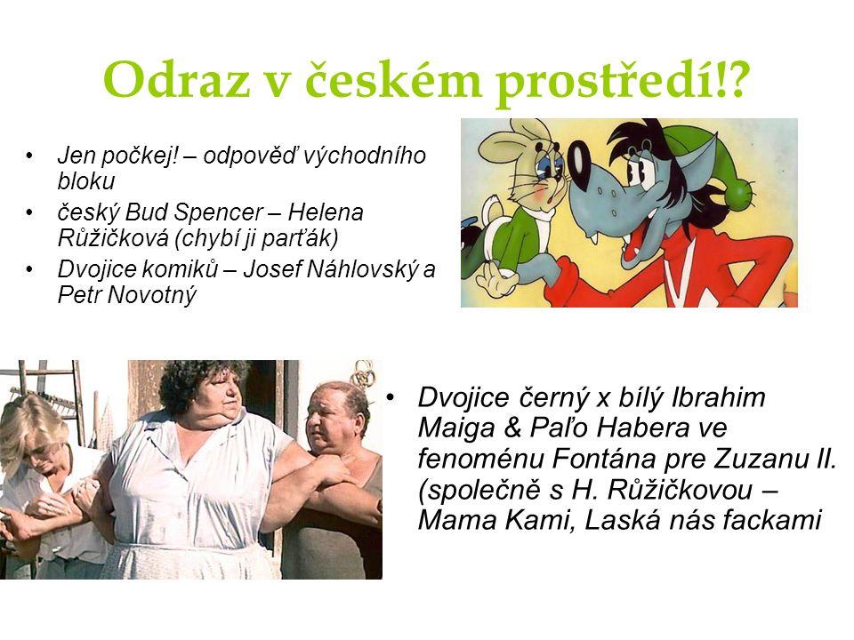 Odraz v českém prostředí!. Jen počkej.