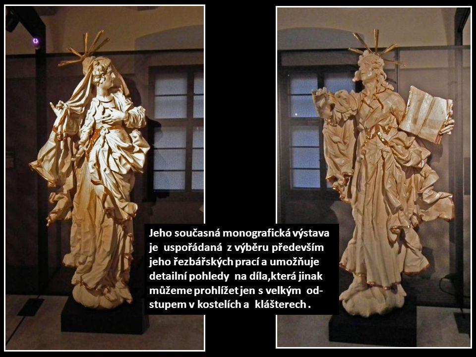 Sochař J.A.Heinz (1698-1759) patří k nejvýraznějším osob- nostem umění baroka na Moravě.Svými životními osu- dy a působením je spjat s Uničovem, Olomoucí a Znoj- mem,kde ke konci života vstoupil do dominikánského Kláštera.