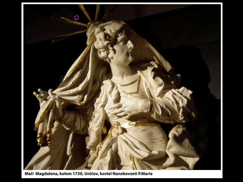 Jeho současná monografická výstava je uspořádaná z výběru především jeho řezbářských prací a umožňuje detailní pohledy na díla,která jinak můžeme prohlížet jen s velkým od- stupem v kostelích a klášterech.