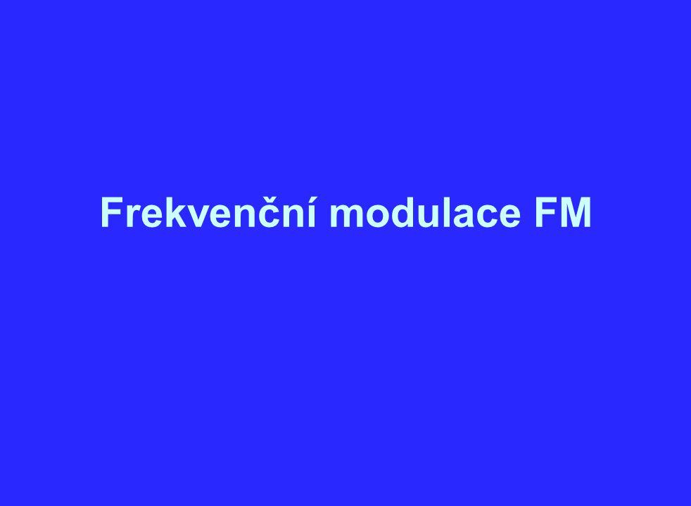 Frekvenční modulace FM