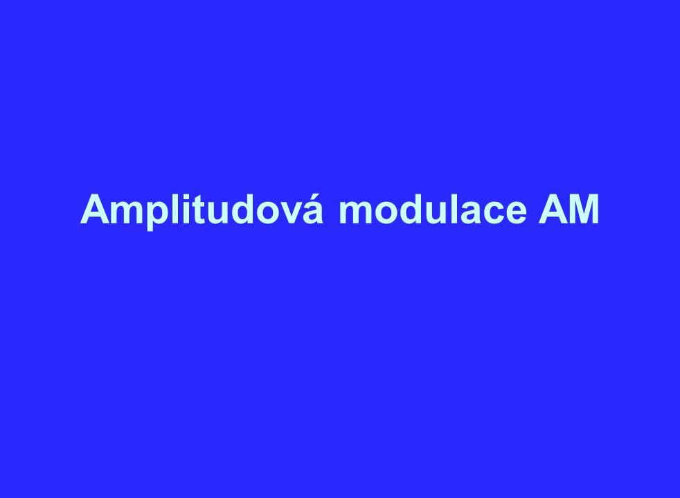 Amplitudová modulace AM