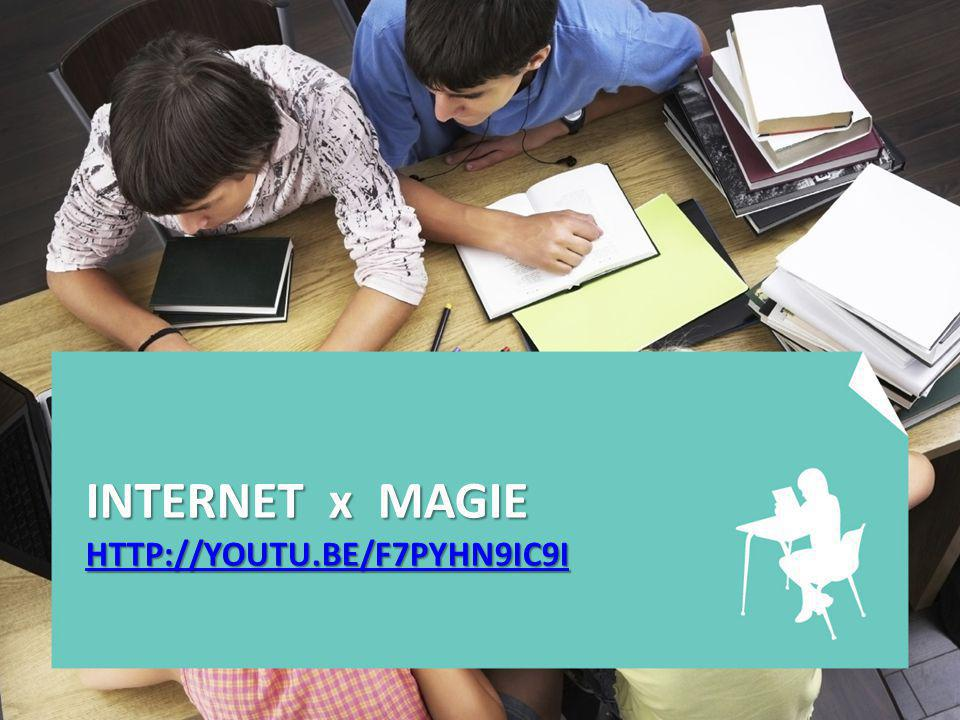 INTERNET x MAGIE HTTP://YOUTU.BE/F7PYHN9IC9I HTTP://YOUTU.BE/F7PYHN9IC9I