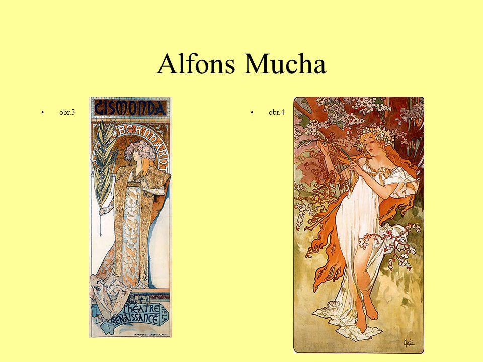 Alfons Mucha obr.3obr.4