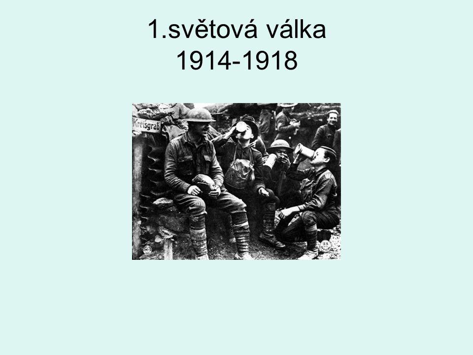 1.světová válka 1914-1918