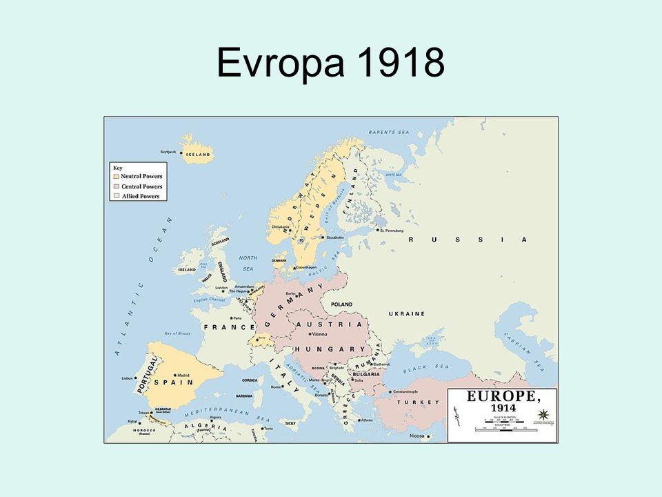 Evropa 1918