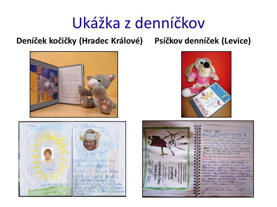 Ukážka z denníčkov Deníček kočičky (Hradec Králové)Psíčkov denníček (Levice)
