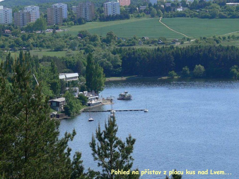 Pohled na přístav z placu kus nad Lvem...