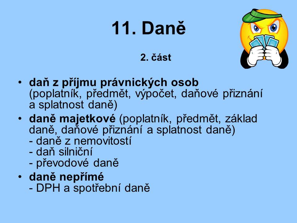 11.Daně 2.