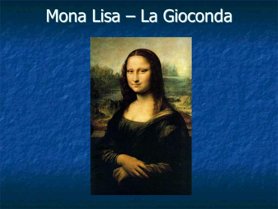 Mona Lisa – La Gioconda