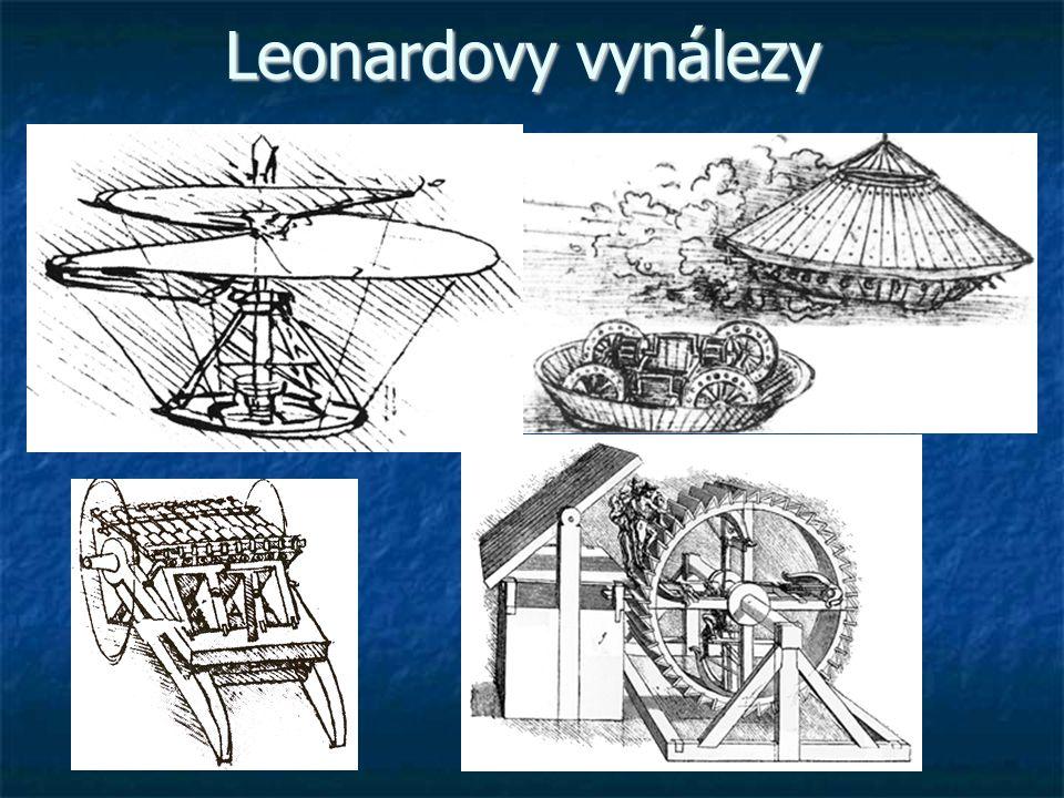 Leonardovy vynálezy