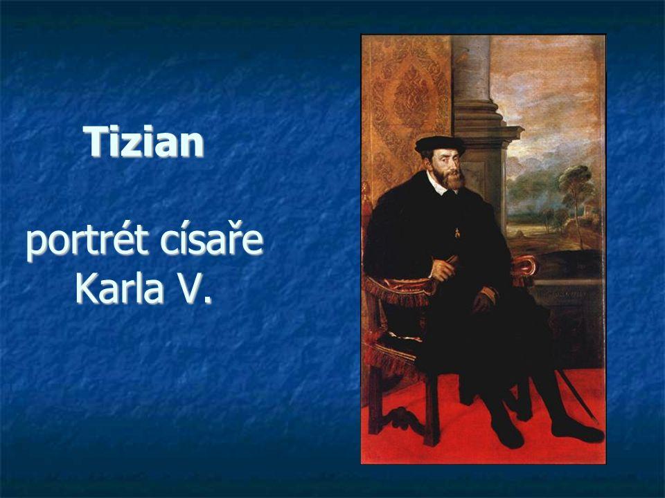 Tizian portrét císaře Karla V.