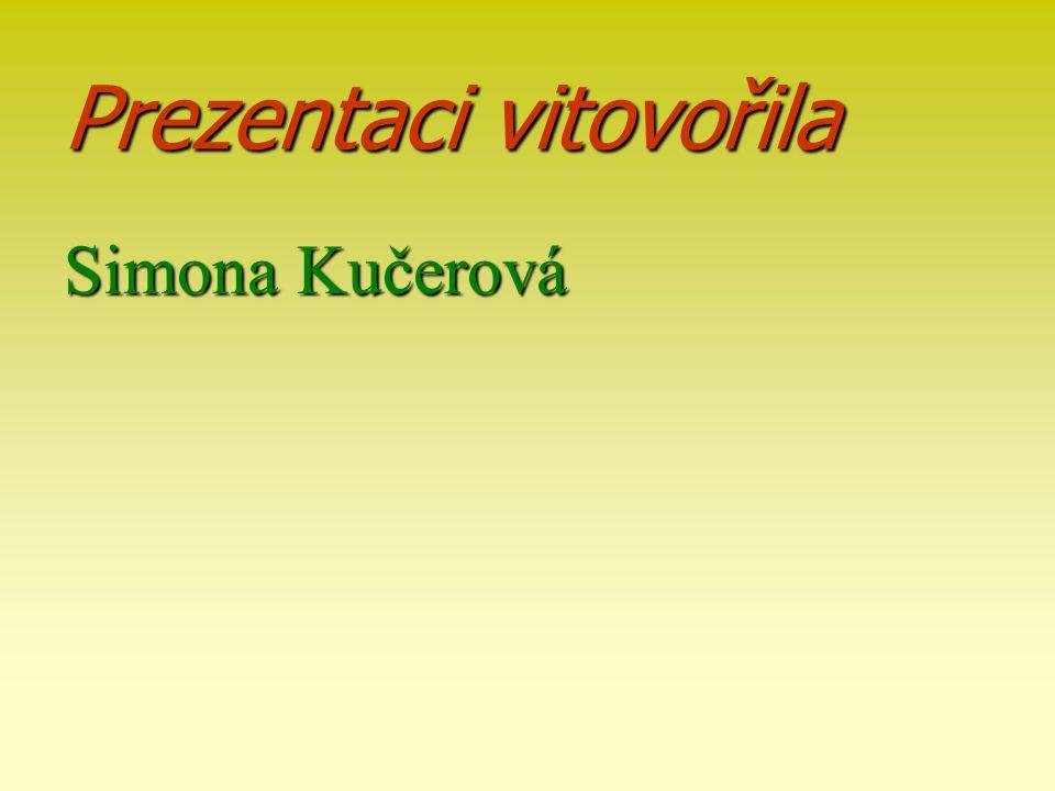 Prezentaci vitovořila Simona Kučerová