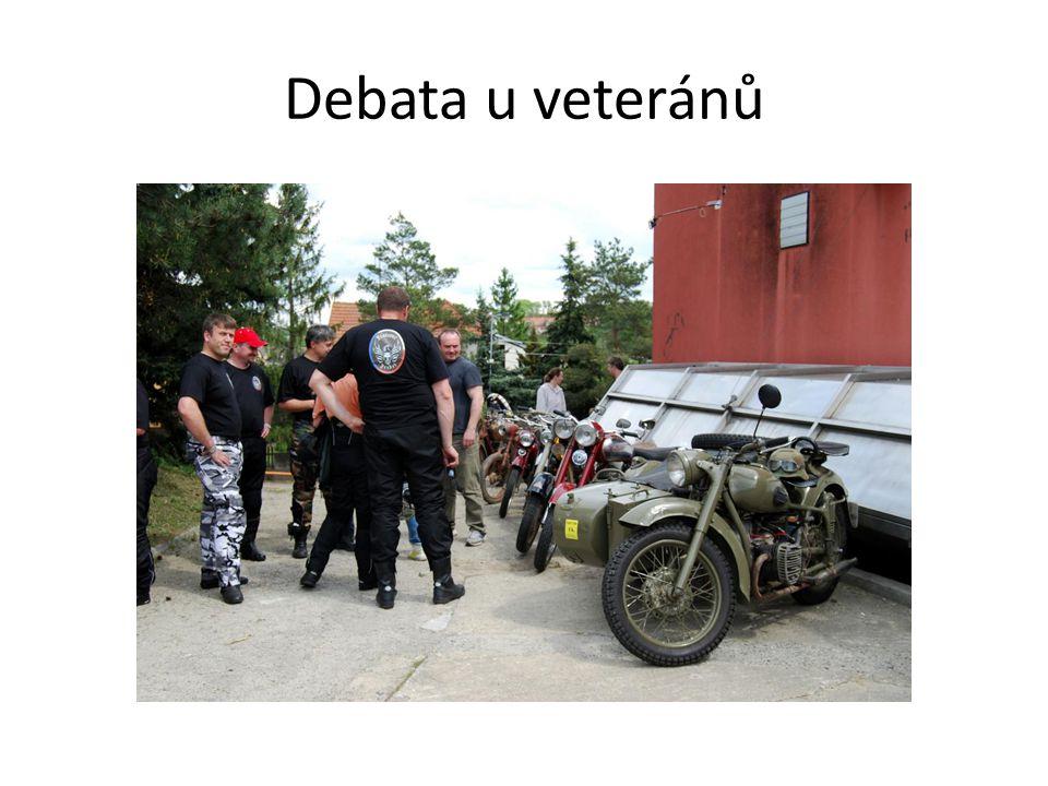 Debata u veteránů