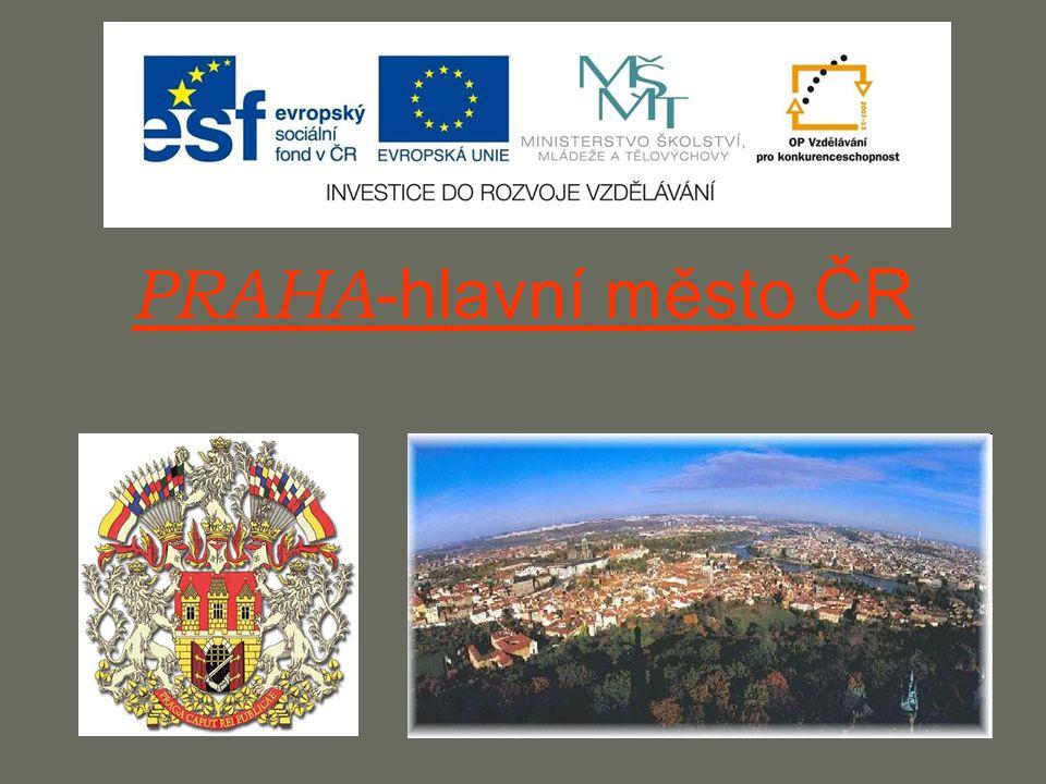 PRAHA -hlavní město ČR