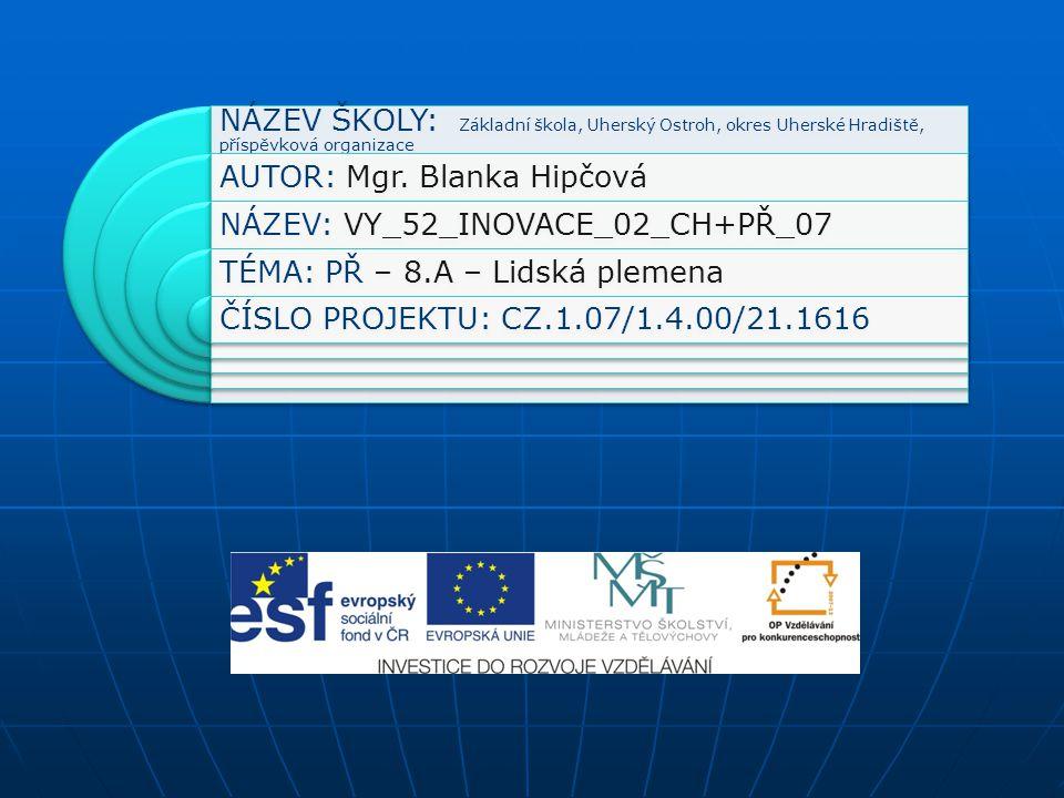 Anotace Výuková prezentace je určena žákům 8.roč.ZŠ.