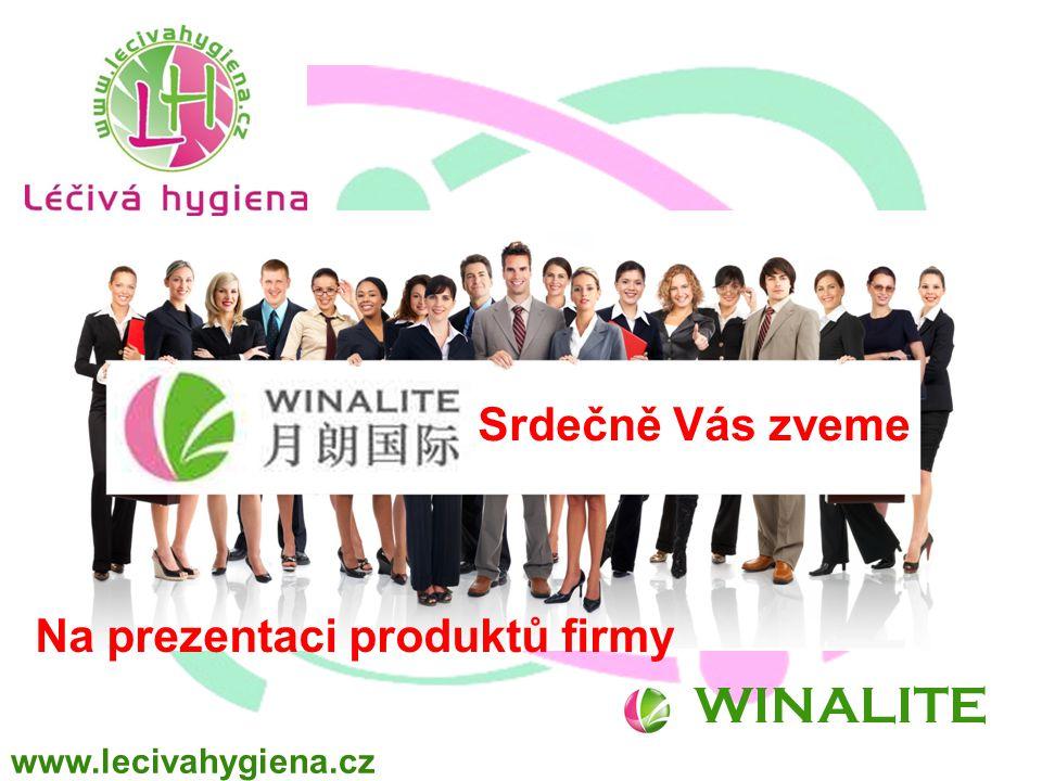 WINALITE Na prezentaci produktů firmy Srdečně Vás zveme www.lecivahygiena.cz