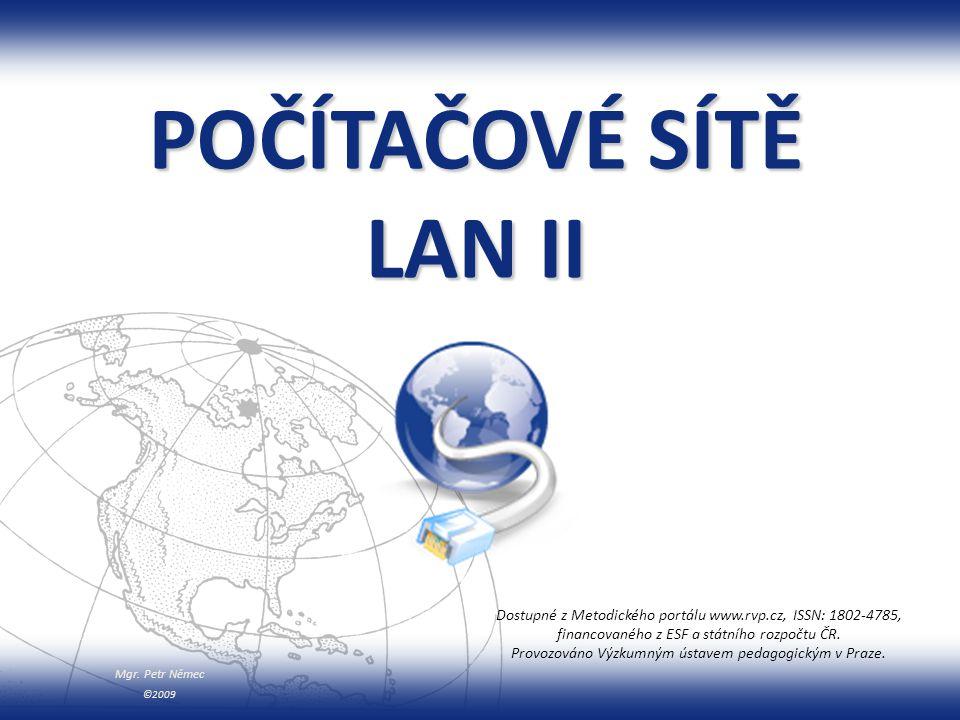 Mgr. Petr Němec Dostupné z Metodického portálu www.rvp.cz WiFi zdroj [29]