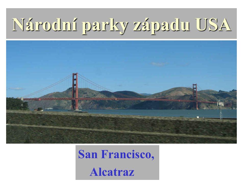 Národní parky západu USA San Francisco, Alcatraz