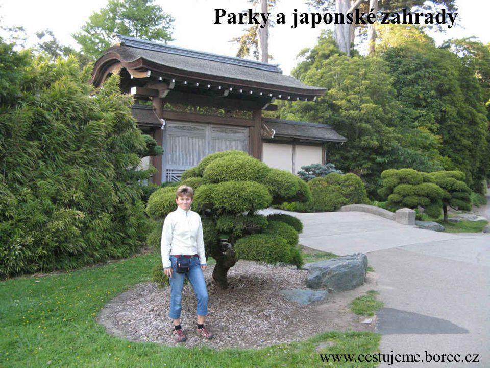 www.cestujeme.borec.cz Parky a japonské zahrady
